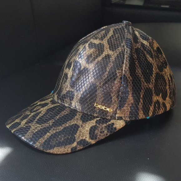 🔥HOT ITEM🔥 Leopard Print Leather Baseball Cap